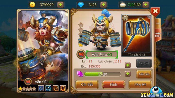 Sấm Thiên Hạ | XEMGAME.COM
