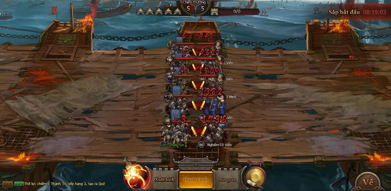 Game Công Thành Chiến khiến người chơi nghẹt thở với trận Xích Bích Liên Server