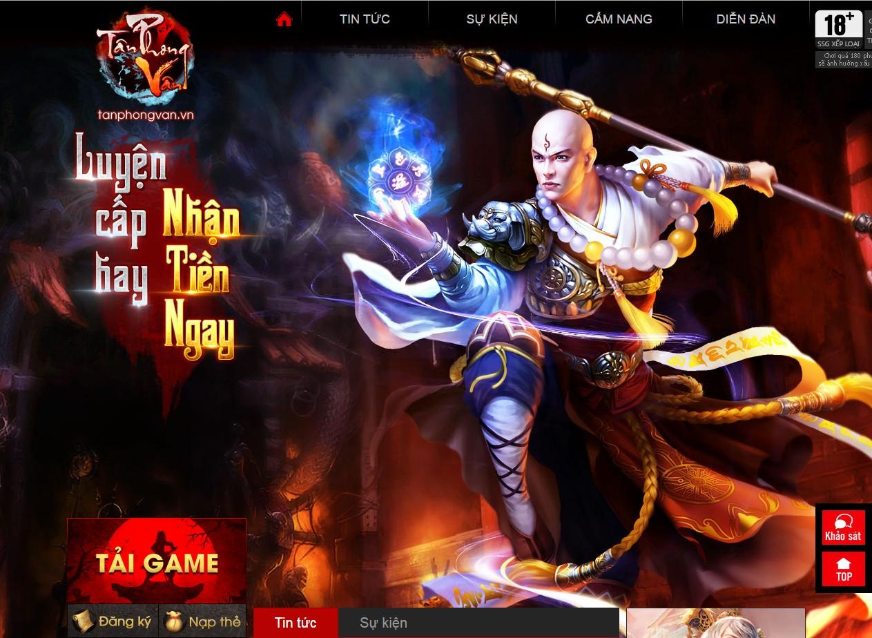 Xemgame tặng 300 giftcode game Tân Phong Vân