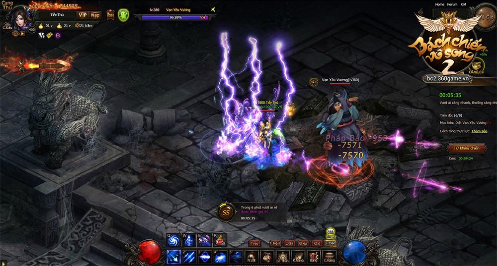 Bách Chiến Vô Song 2 mang nhiều cảm giác của MU Online và Diablo