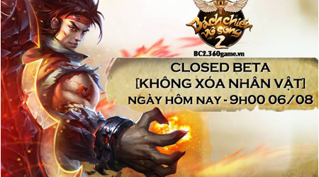 XemGame tặng 200 giftcode game Bách Chiến Vô Song 2