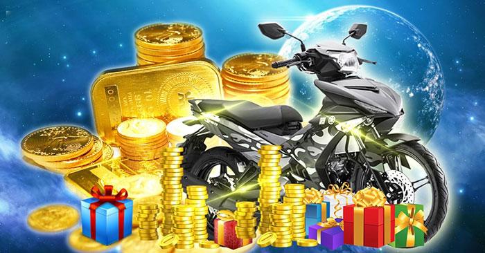 Game thủ Hắc Ám Chi Quang thêm cơ hội nhận xe máy Exciter Camo 2015