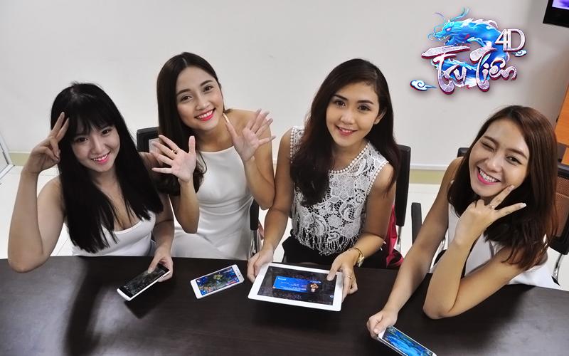 Chiêm ngưỡng dàn hotgirl nóng bỏng mê Mobile Game Tru Tiên 4D