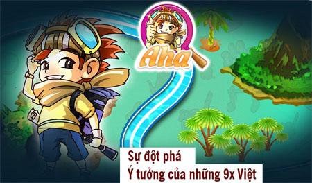 Game Aha! đơn giản nhưng dễ gây nghiện