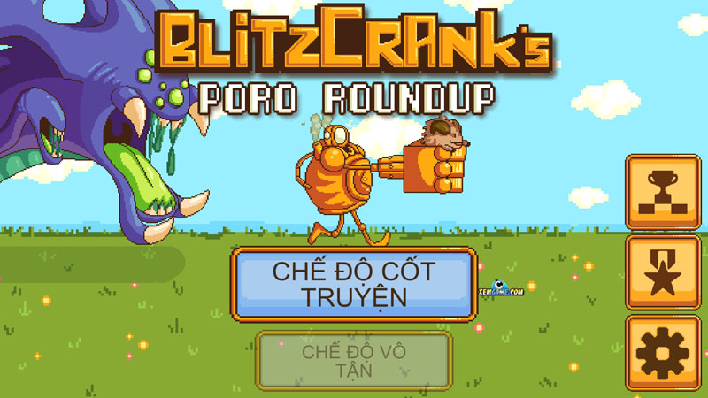 Blitzcrank's Poro Roundup   XEMGAME.COM