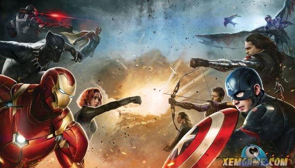 Trailer Captain America: Civil War bất ngờ bị rò rỉ