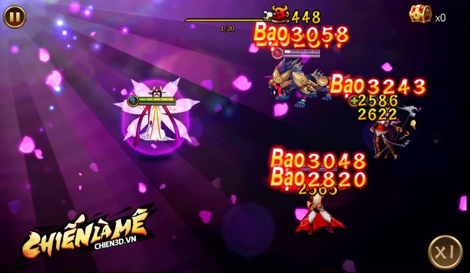 Chiến 3D tặng miễn phí tướng Angela Baby cho người chơi