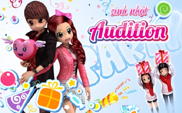 New Audition tặng đọc giả XemGame 300 giftcode mừng sinh nhật 9 tuổi