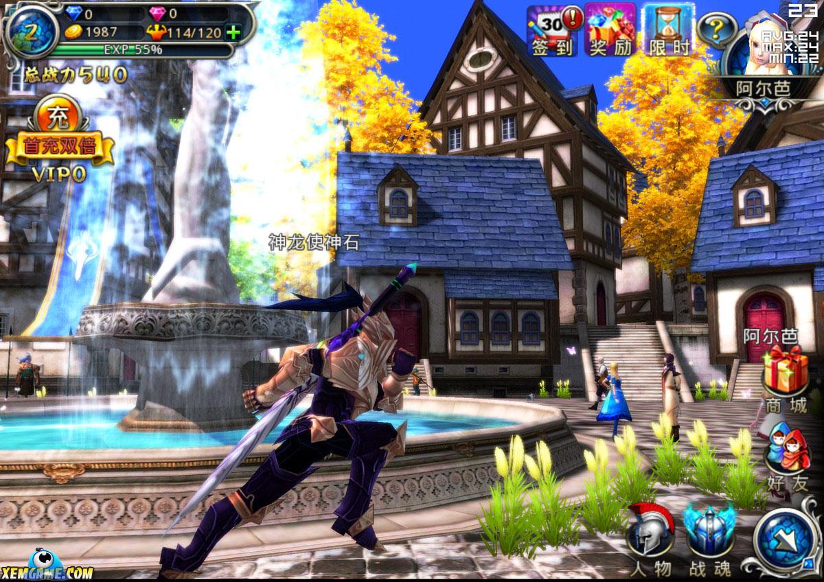 Fantasy Legend | XEMGAME.COM