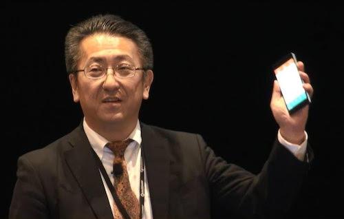 Toshiba dùng BPhone để giới thiệu về công nghệ TransferJet