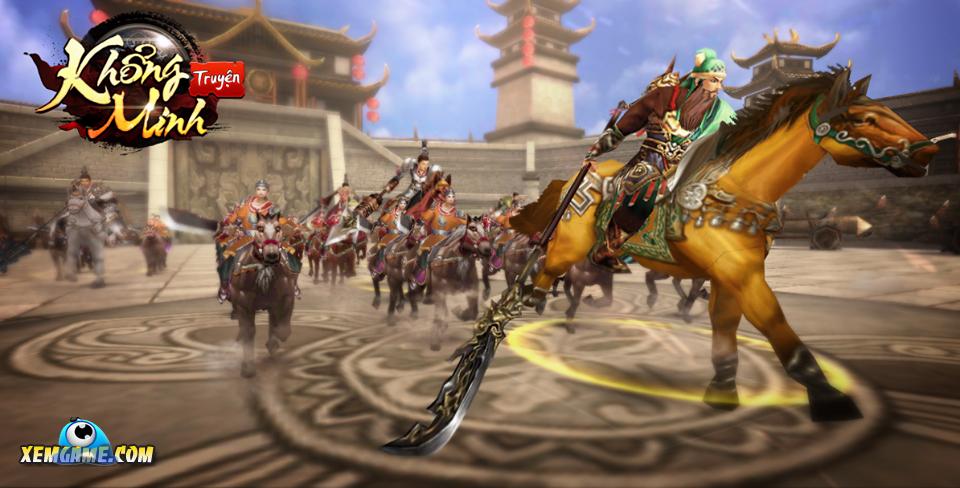 Khổng Minh Truyện | XEMGAME.COM