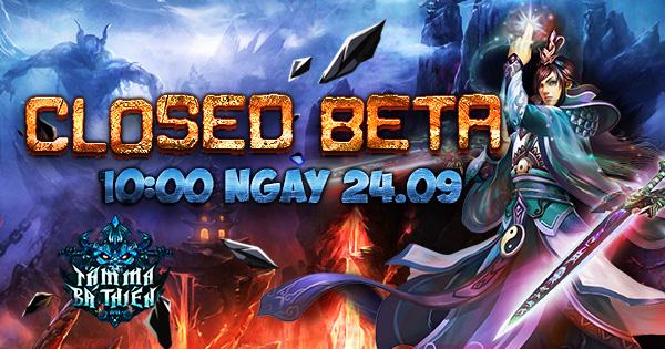 Tâm Ma Bá Thiên Chính Thức Closed Beta, tặng giftcode 1tr VNĐ