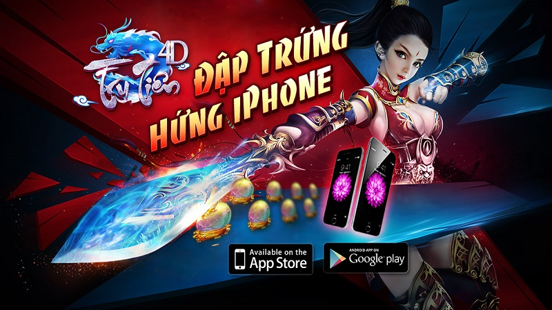 Tru Tiên 4D tung cập nhật mới đón Trung Thu, tặng IPhone 6 Plus