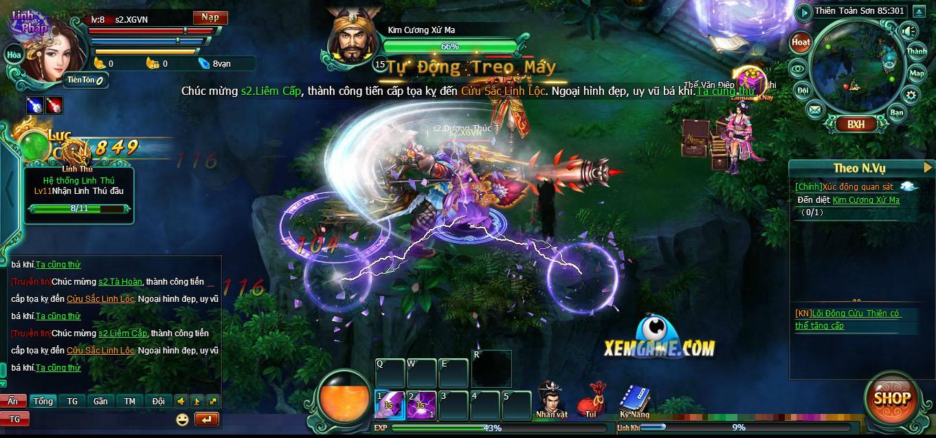 Tâm Ma Bá Thiên là một game online khá dễ chơi, phù hợp với fan tiên hiệp
