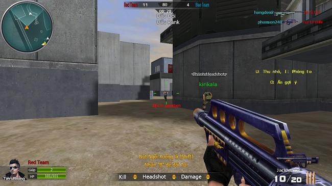 Bí quyết chọn súng trong game MMOFPS