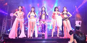 Trang Moon, Minh Hằng quậy tưng bừng trong sự kiện ra mắt game Hoa Thiên Cốt Web
