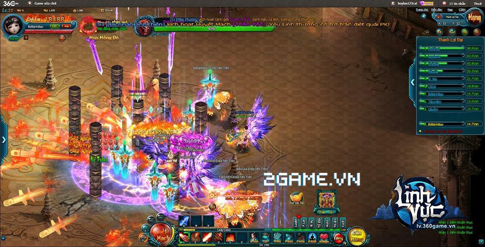 Game Linh Vực chính thức mở cửa thử nghiệm vào ngày 11/1
