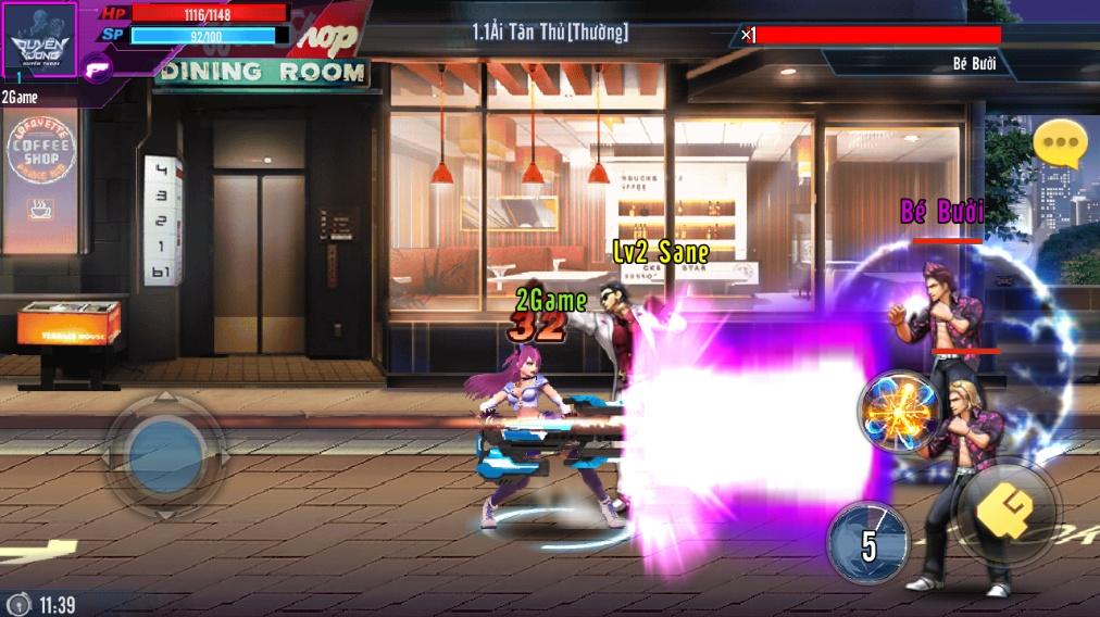 Top 7 game mobile lấy thương hiệu Quyền Vương 1