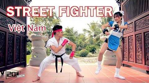Street Fighter phiên bản đời thực dại gái
