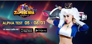 Tặng 315 giftcode game Zombie War