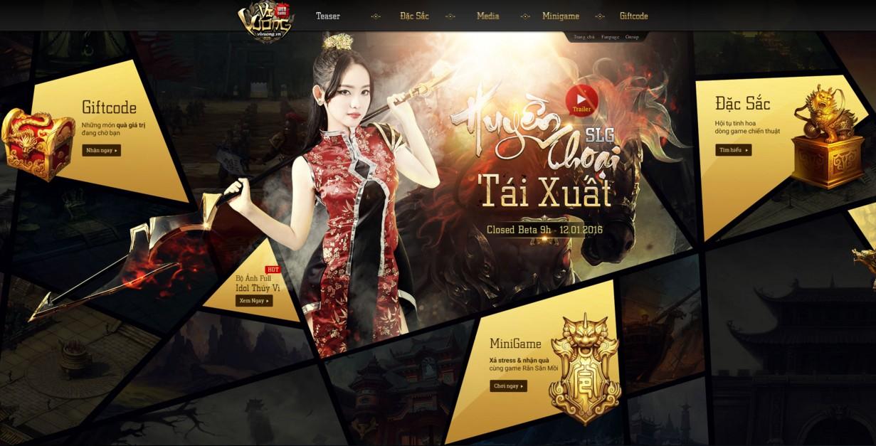 Game chiến thuật Vi Vương chuẩn bị ra mắt game thủ Việt