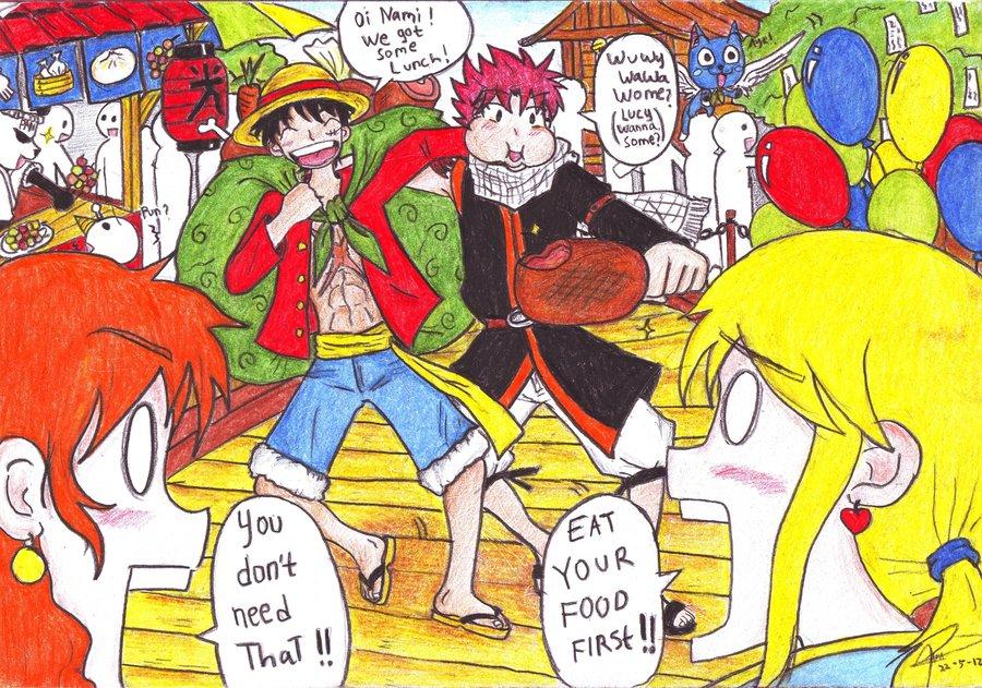 Chùm tranh fan chế ấn tượng trong thế giới Manga, Anime