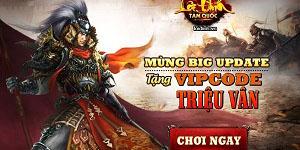 Tặng 215 giftcode game Lôi Đình Tam Quốc