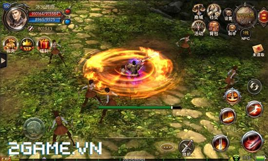 Chơi thử game Mộng Vương Quyền mobile trước thềm ra mắt tại Việt Nam