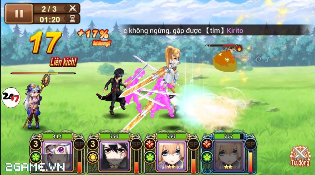 Trải nghiệm game Đế Chế Manga mobile trong ngày đầu ra mắt