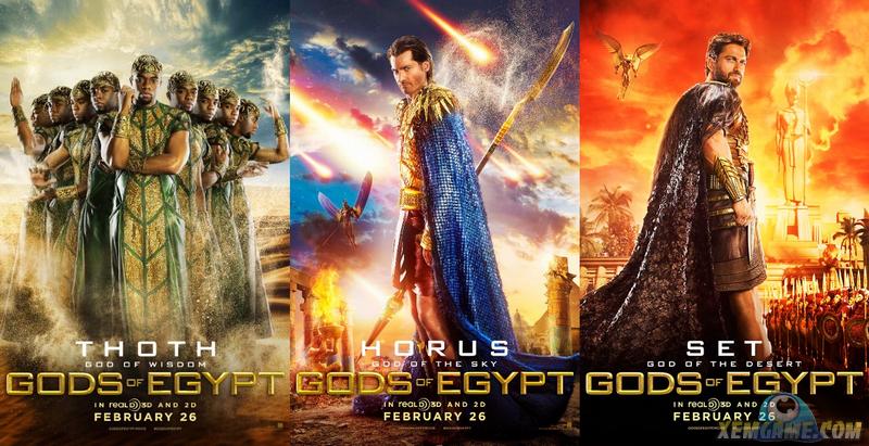 Gods of Egypt chưa công chiếu đã bị chê ở Trailer