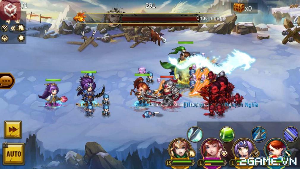 Thiếu Niên Tam Quốc tạo ấn tượng với người chơi nhờ gameplay thú vị
