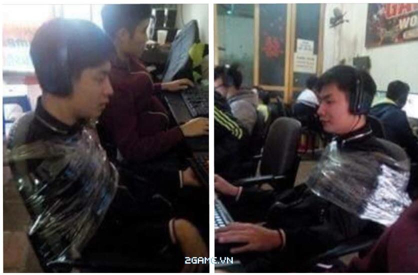 Shock trước cảnh nam game thủ bị buộc chặt vào ghế vì dám bùng tiền net