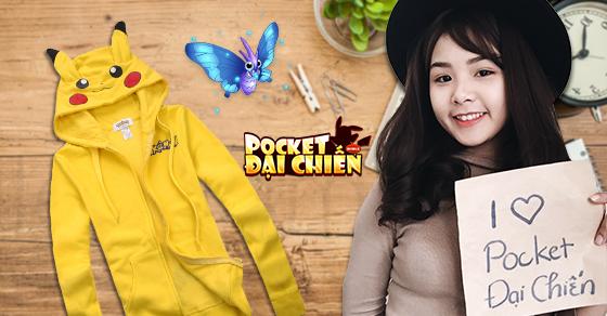 Game thủ Pocket Đại Chiến ráo riết selfie săn lùng áo Pikachu cực độc