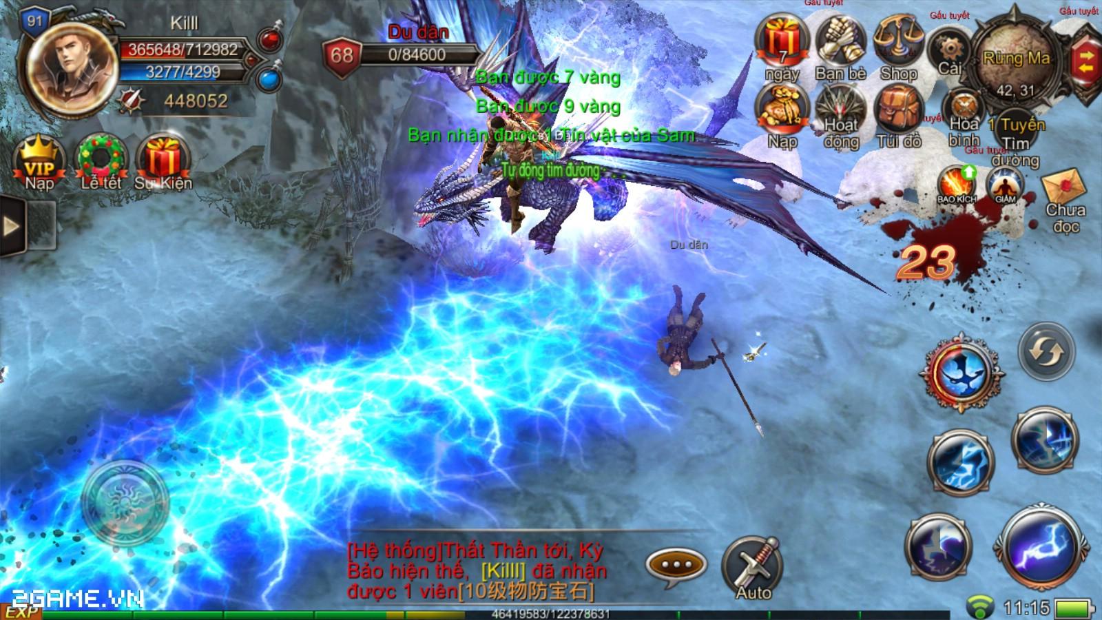 Mộng Vương Quyền thu hút đông đảo người chơi trong ngày đầu ra mắt