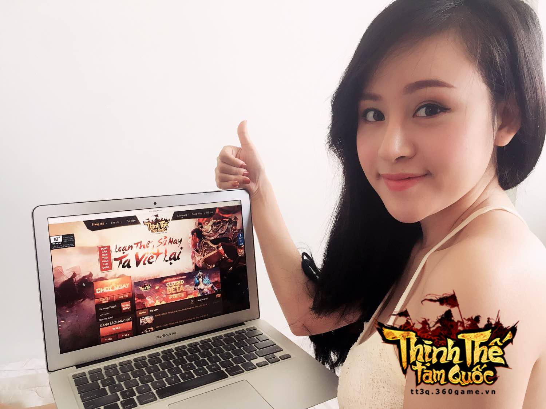 Bà Tưng 'bối rối' trước webgame Thịnh Thế Tam Quốc