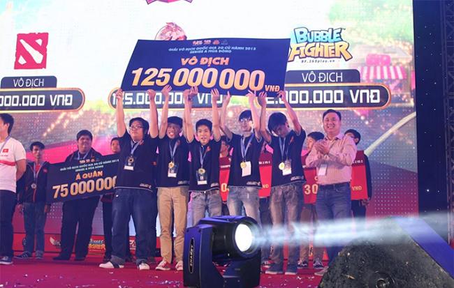 Ấn tượng với thành tích giải đấu của game 3Q Củ Hành trong năm 2015