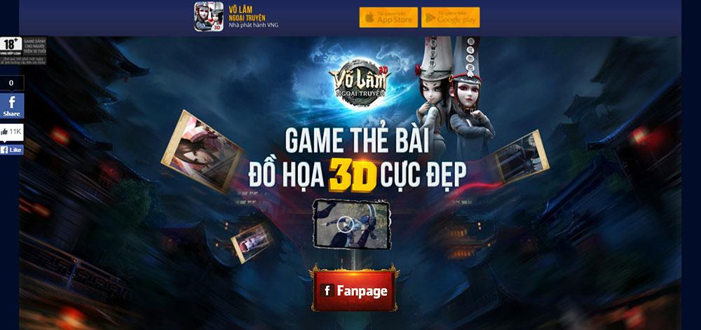 Võ Lâm Ngoại Truyện tung trailer ấn tượng, định ngày 2/3 ra game