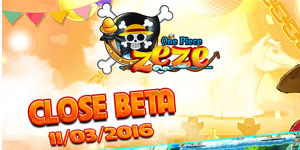 Tặng 515 giftcode game One Piece Zeze