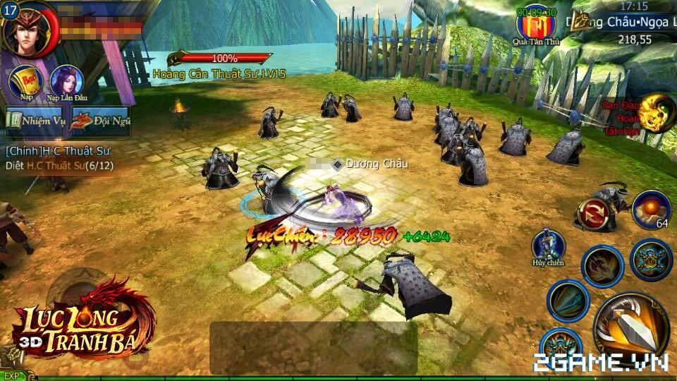 Lục Long Tranh Bá 3D | XEMGAME.COM