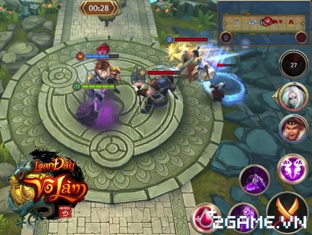 Nét đột phá đậm tính chiến thuật của game Việt Loạn Đấu Võ Lâm qua tính năng Kinh Văn