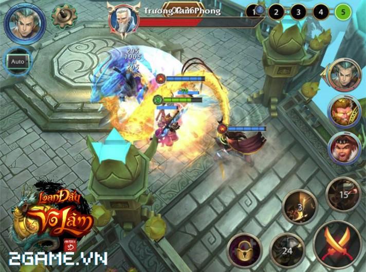 4 chất đặc trưng của dòng MMORPG hội tụ đầy đủ trong Loạn Đấu Võ Lâm