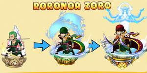 Zoro thuộc phe phản diện trong game One Piece Việt Hải Tặc Bóng Đêm?