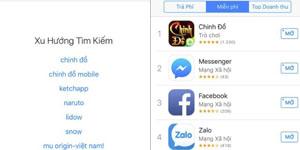 Chinh Đồ Mobile bất ngờ leo TOP Apple Store chỉ sau 1 ngày ra mắt