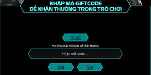 Chiến Dịch Huyền Thoại tặng giftcode cho game thủ 2Game