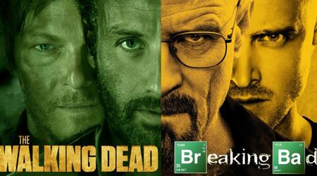 Quá bất ngờ khi Walking Dead và Breaking Bad cùng xuất hiện ở một thời điểm