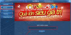 Võ Lâm Ngũ Tuyệt tặng giftcode cho game thủ 2Game