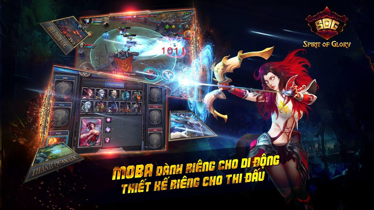 MOBA Spirit Of Glory do người Việt Nam phát triển đã chính thức ra mắt
