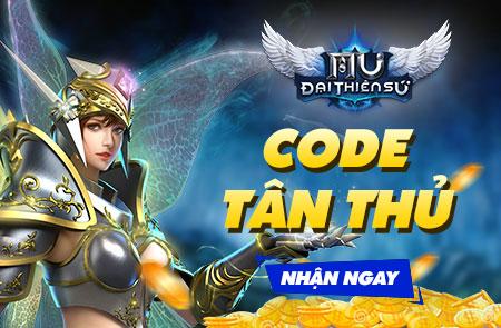 Tặng 1200 giftcode MU Đại Thiên Sứ