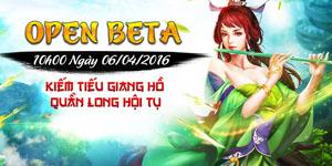 Tặng 310 giftcode game Kiếm Tiếu Giang Hồ