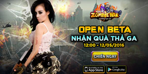 Game thủ đếm ngược chờ ngày gMO Zombie War chính thức Open Beta